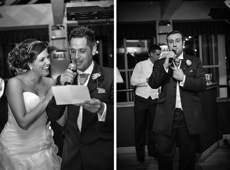 Wedding celebration at the Weston Hall Hotel in Bulkington