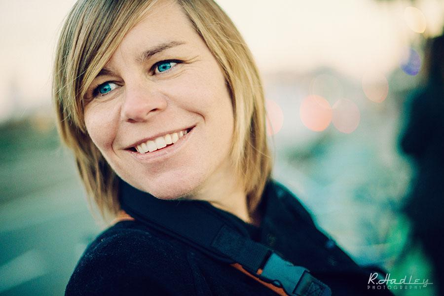 Portrait of Melanie Berthelot during a photowalk in Barcelona | Nikon D600 + 180mm f/2.8 AF-D