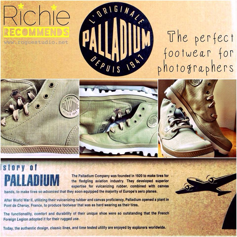 Palladiums, perfect for photographers
