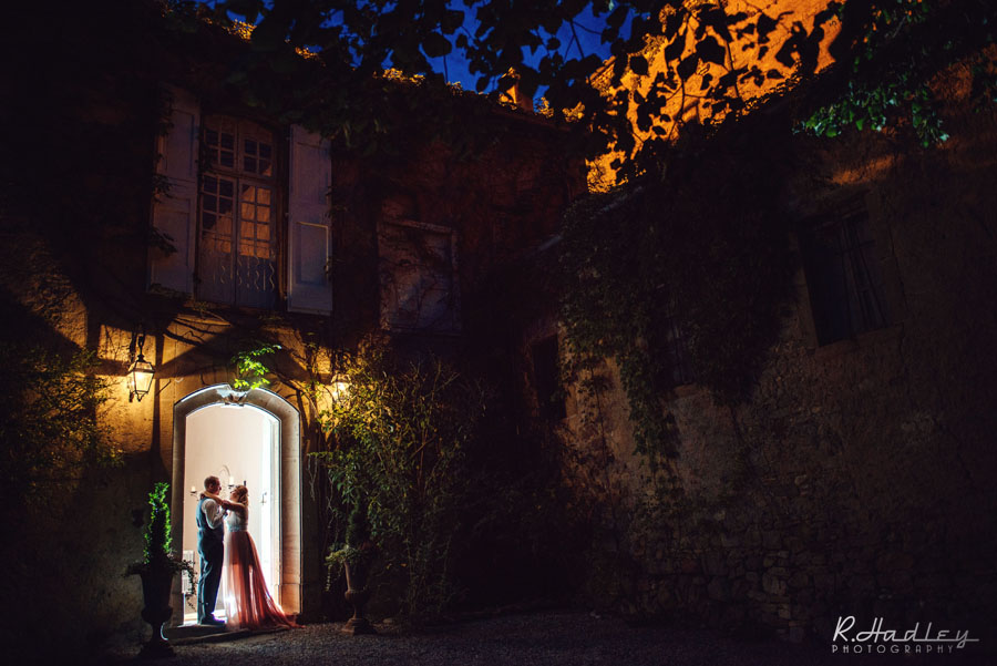 Wedding at L'Abbaye Chateau de Camon, France