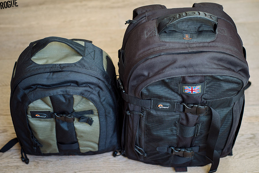 Kit & Gear | Camera Bag | LowePro ProRunner AW 200 & 350