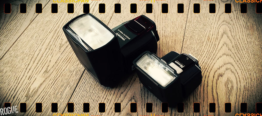 Nissin i40 flash and Yongnuo 560 iii