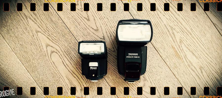 Nissin i40 flash and Yongnuo 560 iii