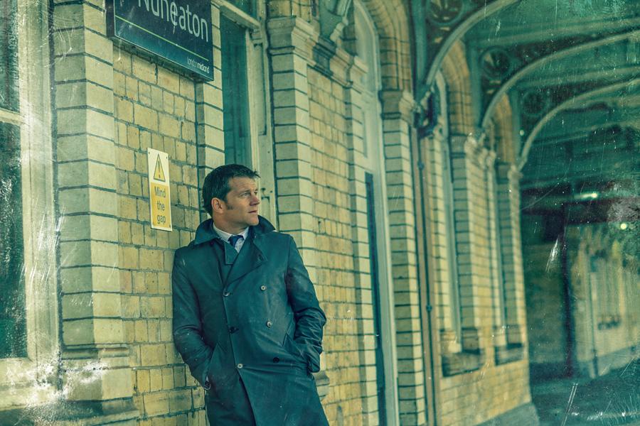 Portrait of Tom Hadley at Nuneaton Train station