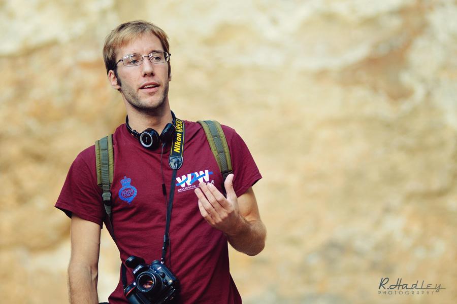 Ben Evans at the Grec in Montjuïc