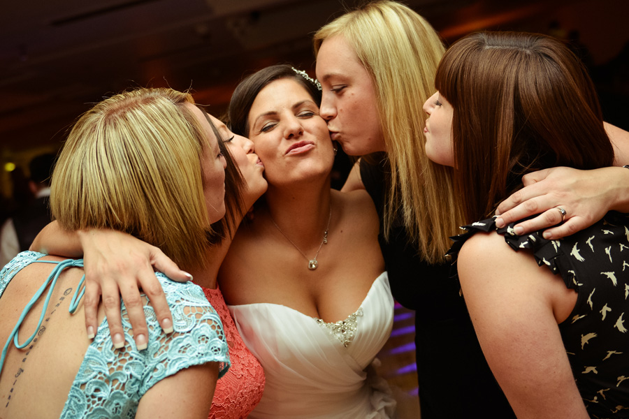 Wedding celebration at the Weston Hall Hotel in Bulkington