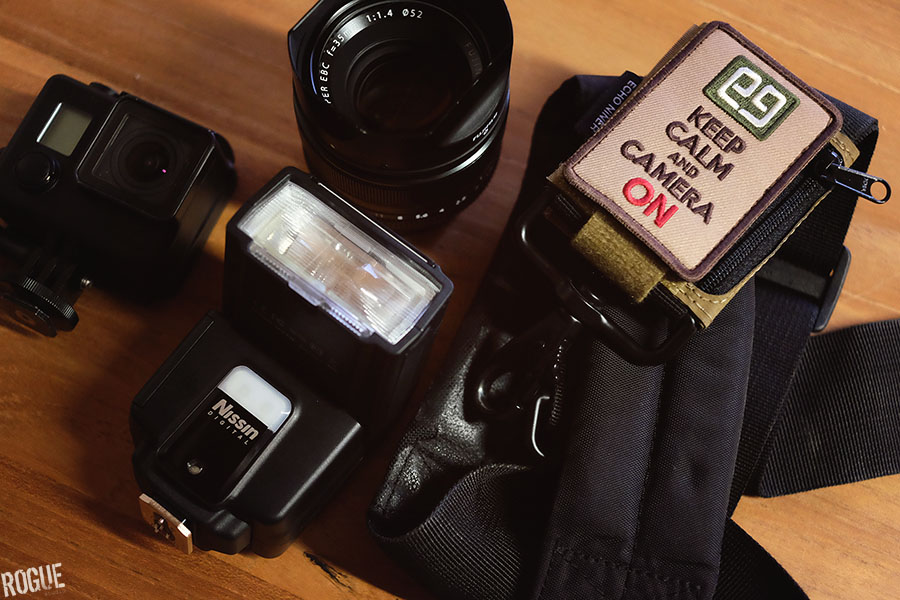 Nissin i40 flash and photo kit